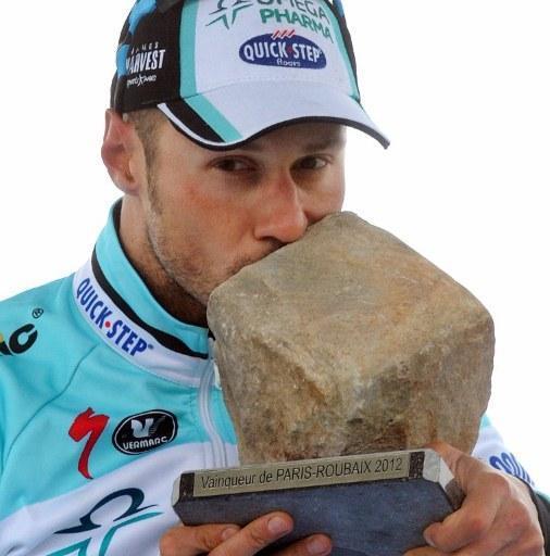 Tom Boonen, câştigătorul Paris-Roubaix din 2012