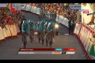 Follow Astana a câștigat prima etapă din Turului Spaniei 2013, un contratimp pe echipe, desfășurat pe distanța de27,4 km între Vilanova de Arousa și Sanxenxo. Victoria echipei din Kazahstan s-a […]